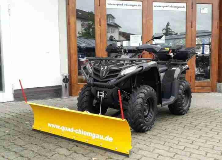 Quad ATV CFMoto CForce 450 Winterpaket 2020 4x4 EFI IRS Euro4 LOF Neu Modell2020