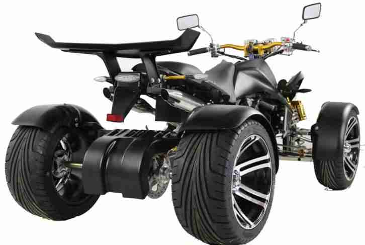 quad atv racing spy 350ccm 115km h 6 gang neues bestes. Black Bedroom Furniture Sets. Home Design Ideas