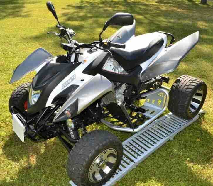 Quad ATV Supermoto Adly Hurrican 500 TÜV 05 22 Top Zustand, Scheckheftgepflegt