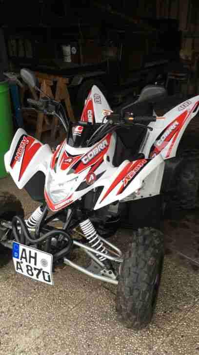 Quad Aeon Cobra 400 1500km ATV Sheckheft Gepflegt