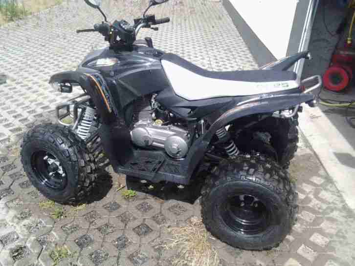 quad atv spy racing 350ccm 120km h neues modell bestes. Black Bedroom Furniture Sets. Home Design Ideas