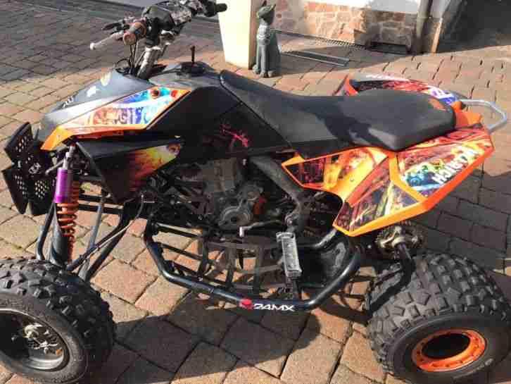 Quad KTM 505