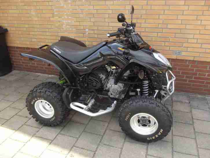 quad kymco maxxer 250 mit extras kxr led bestes. Black Bedroom Furniture Sets. Home Design Ideas