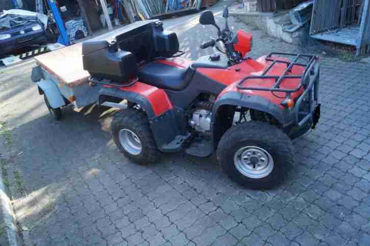 Quad LONCIN 250 mit Anhänger Brenderup