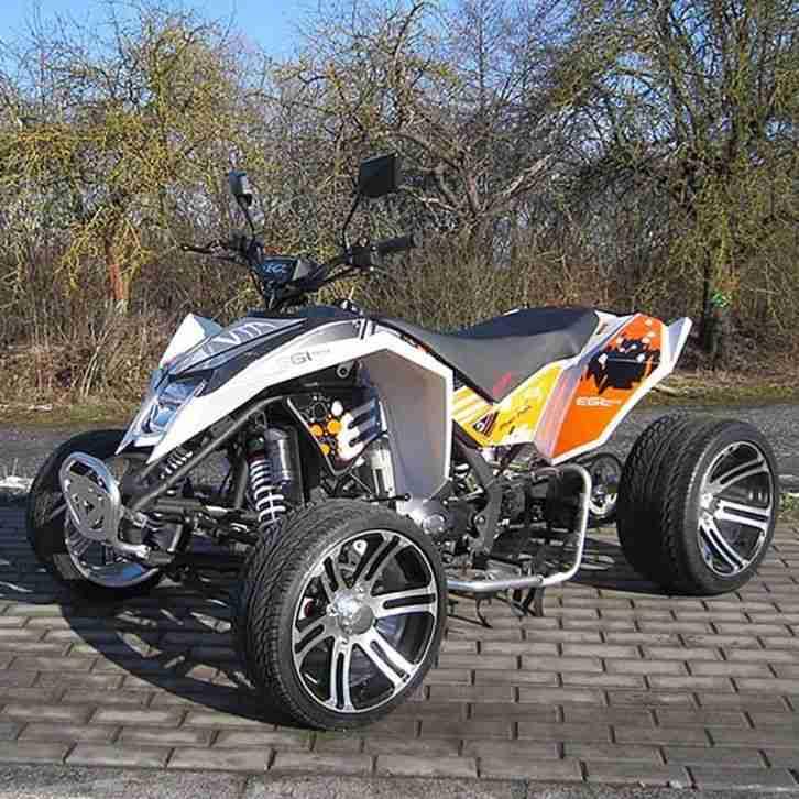 quad mad max 250cc racing weiss quad atv 250 bestes angebot von quads. Black Bedroom Furniture Sets. Home Design Ideas