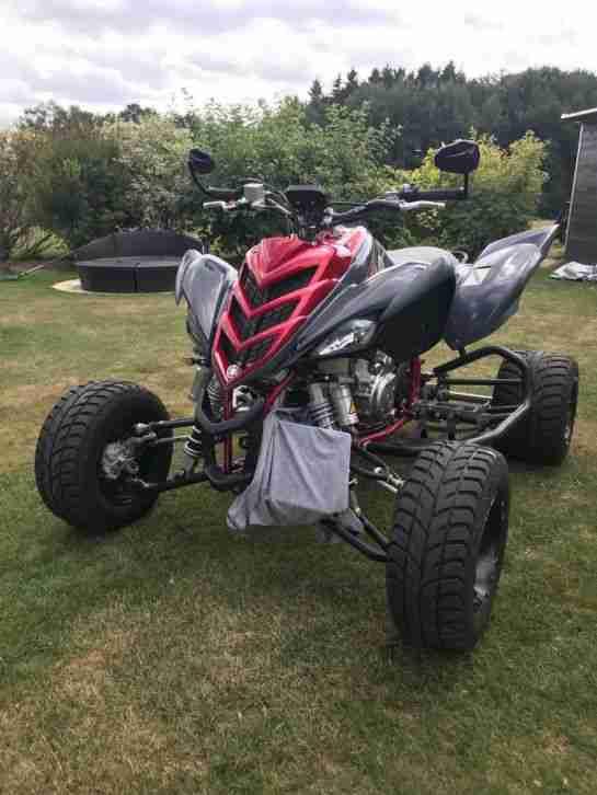 Quad Yamaha Raptor 700 R SuperMoto LOF