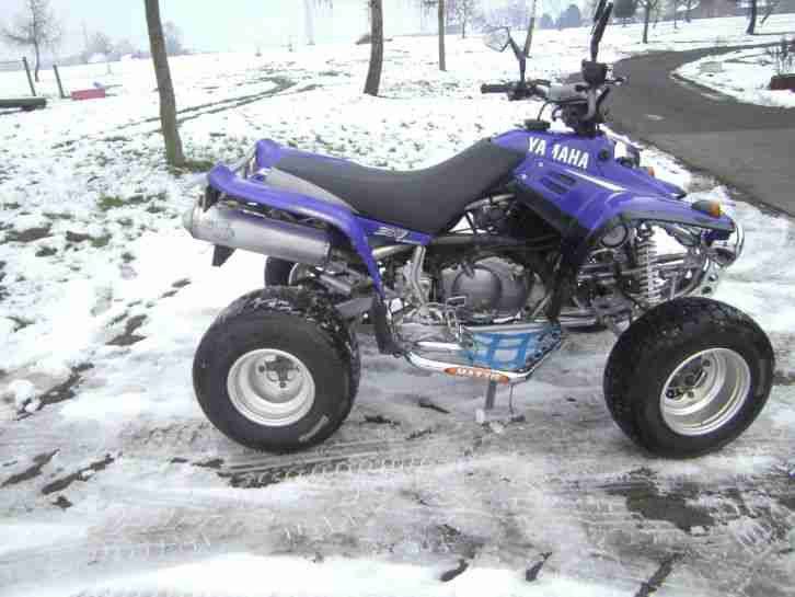 Quad Yamaha Warrior YFM350 X 6Speed 28PS
