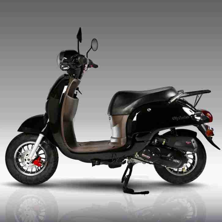 retro roller city cruiser scooter mofa 25 49 50 bestes. Black Bedroom Furniture Sets. Home Design Ideas