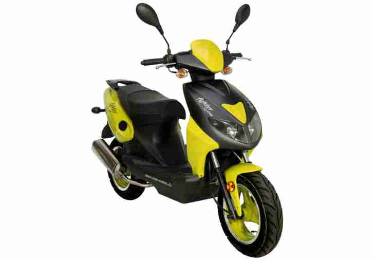 roller 25km h 50ccm 2 takt fighter motorroller bestes. Black Bedroom Furniture Sets. Home Design Ideas