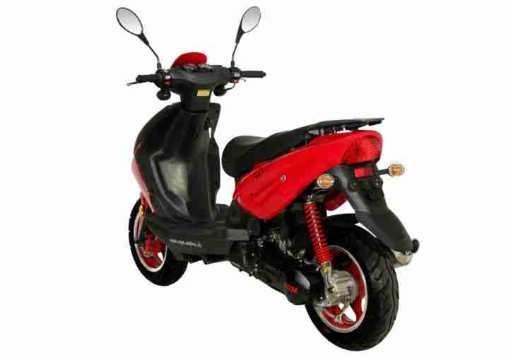roller 45km h 50ccm 2 takt fighter motorroller bestes. Black Bedroom Furniture Sets. Home Design Ideas