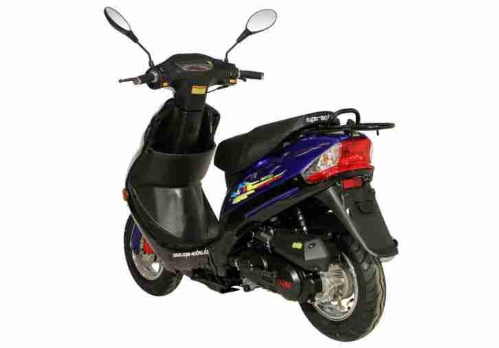 roller motorroller gmx 450 sport 45km h scooter bestes. Black Bedroom Furniture Sets. Home Design Ideas