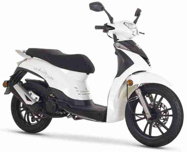 ROMET BLACK WHITE CITY 125 , 125ccm,