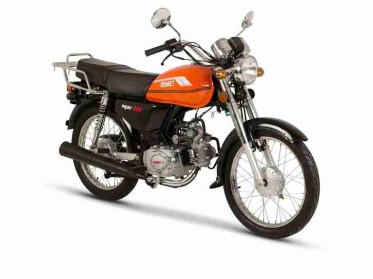 ROMET OGAR 202 Moped 50 ccm E 4 fahrfertig montiert