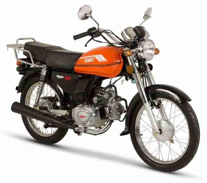 ROMET OGAR 50 Naked Bike 50ccm 4 Takt Moped EURO 4, NEUFAHRZEUG, SONDERPREIS