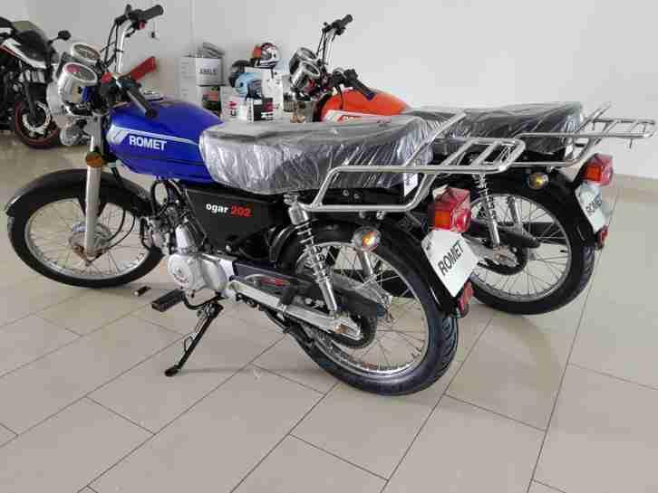 ROMET OGAR 50 Naked Bike 50ccm 4-Takt Motorrad 50 ccm