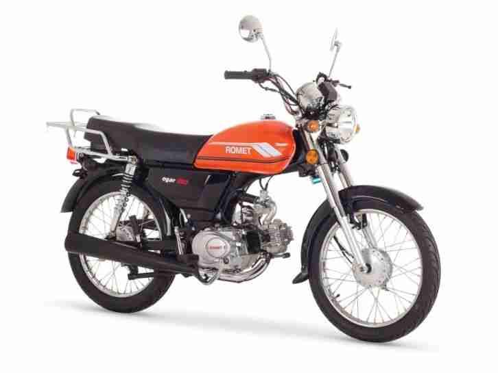 ROMET OGAR 50 Naked Bike 50ccm 4 Takt Motorrad 50 ccm Moped Mofa Roller NEU