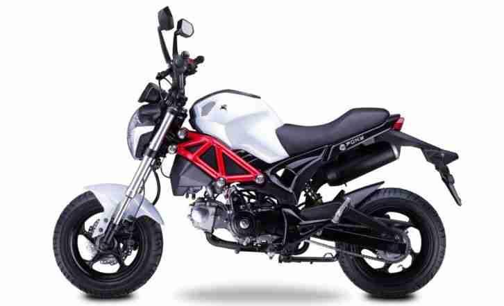 romet pony 50 naked bike 50ccm 4 takt motorrad bestes angebot von sonstige marken. Black Bedroom Furniture Sets. Home Design Ideas