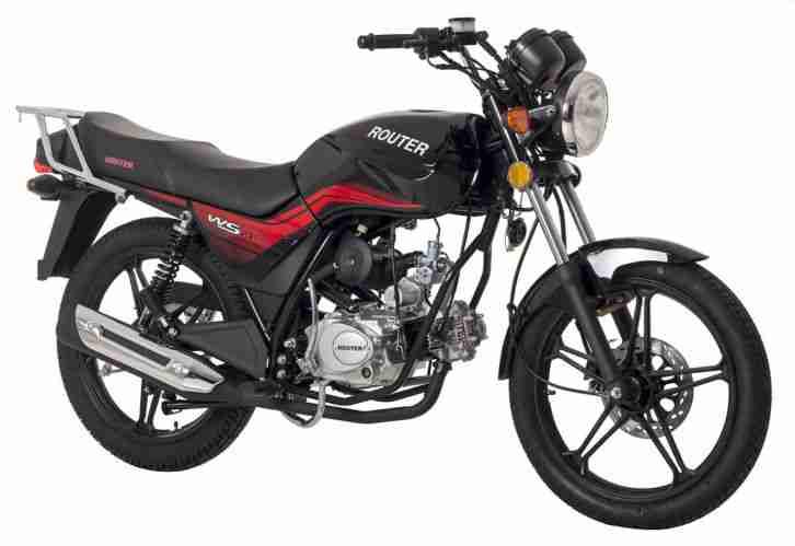 ROMET ROUTER WS 50 Naked Bike 50 ccm 4-Takt Motorrad Moped
