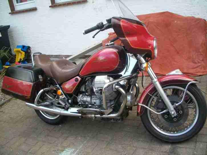 Rarität Moto Guzzi California 1992 JUBILEUMSMODELL Nr 43 von 50, NL EU Zulassung