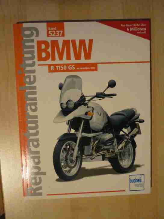 Reparaturanleitung R 1150 GS Motorrad BMW Buch