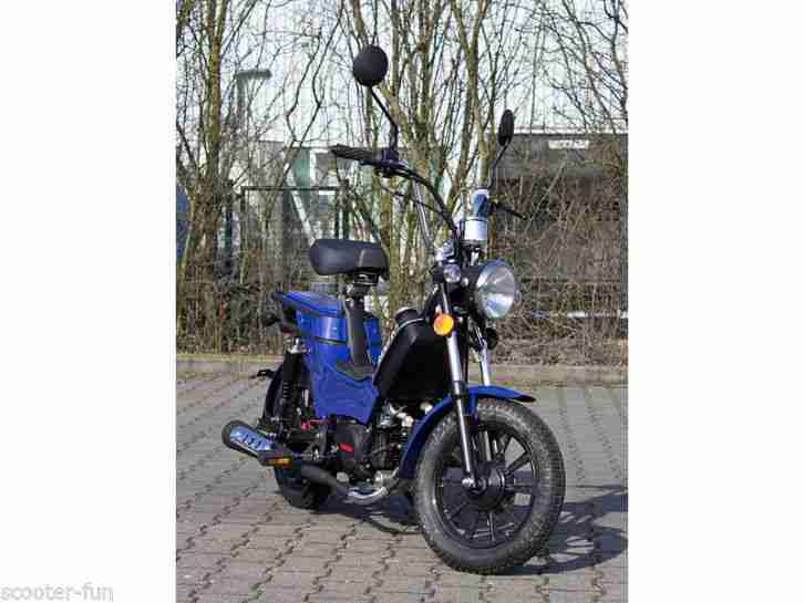Retro Moped 45