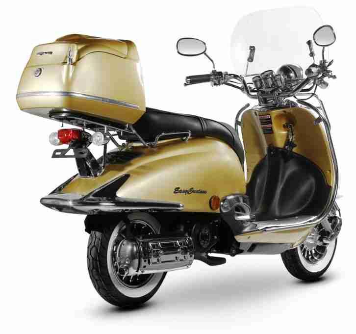 retro roller mofa 25 45 kmh motorroller 49 50 bestes angebot von roller. Black Bedroom Furniture Sets. Home Design Ideas