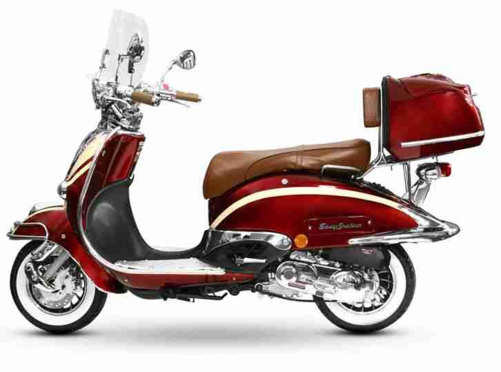 retro roller mofa 25 45 kmh motorroller 50 49 bestes. Black Bedroom Furniture Sets. Home Design Ideas