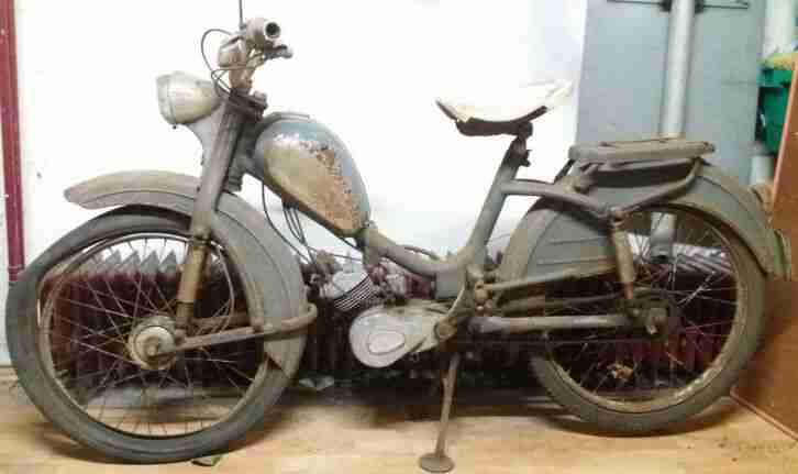 Rex Monaco Typ Rex 21 Pantherwerke Moped Oldtimer