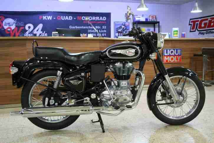 royal enfield bullet 500 efi classic motorrad bestes. Black Bedroom Furniture Sets. Home Design Ideas