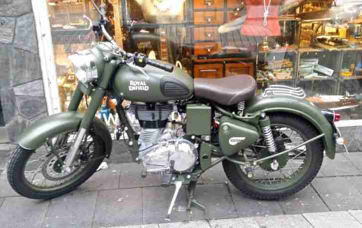 Royal Enfield Classic 500 Army Battle Green