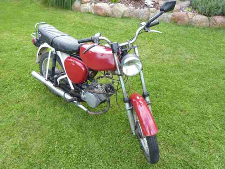 SIMSON S 50 3 Gang Kult Moped