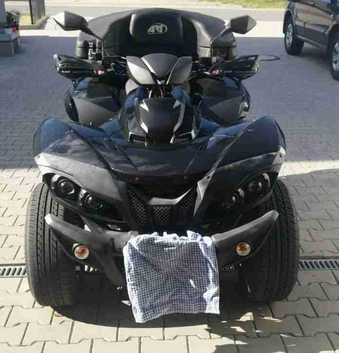 sport quad triton defcon 700 roadster 4x4 lof bestes. Black Bedroom Furniture Sets. Home Design Ideas