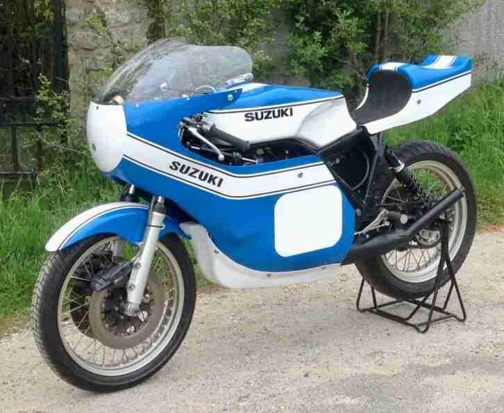 SUZUKI TR 500 XR05 MKIII 1975 Racing GP