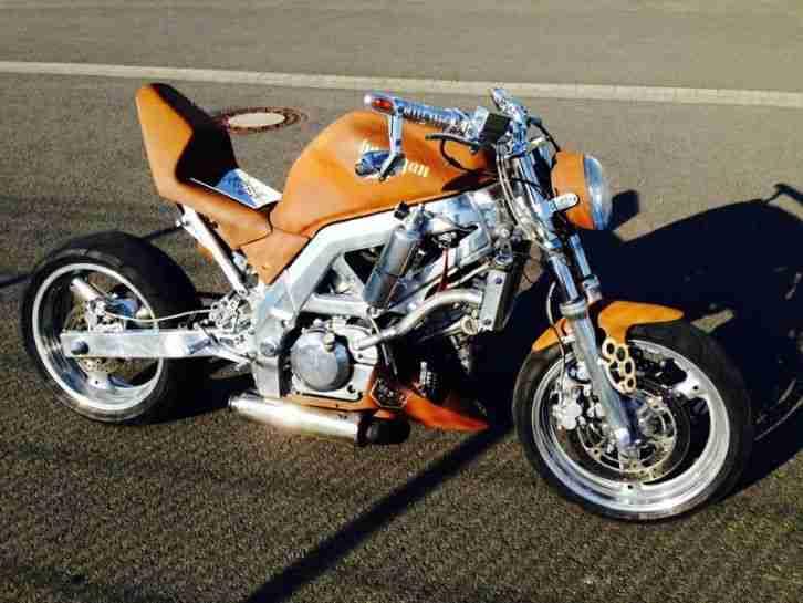 sv 650 k4 streetfighter umbau custombike bestes angebot. Black Bedroom Furniture Sets. Home Design Ideas