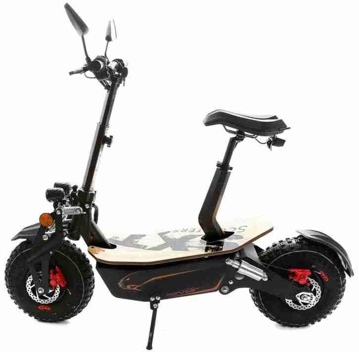 SXT Monster Offroadscooter mit XXL Ballonreifen und 2000W bürstenlosem Motor