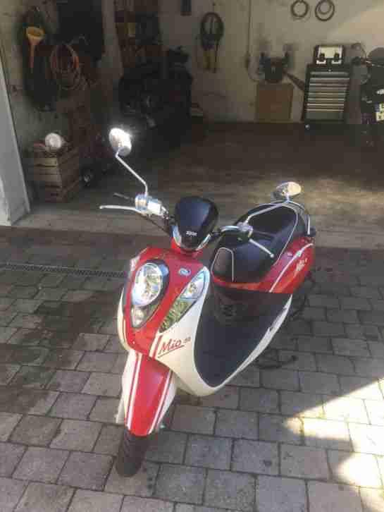 SYM Roller Mio 50