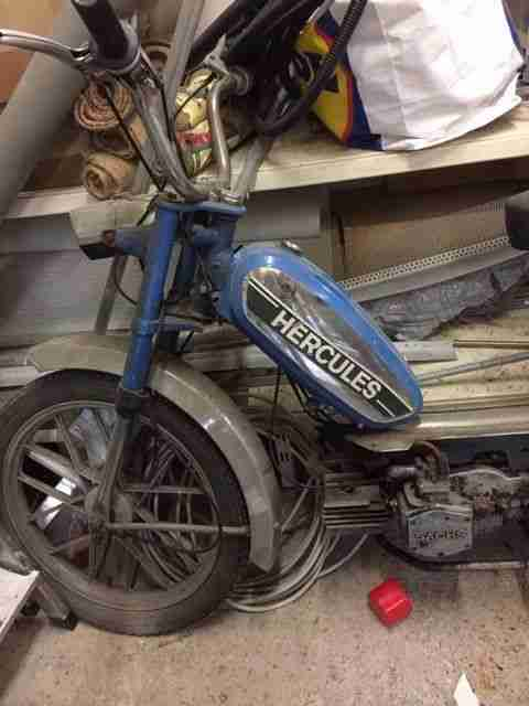 Sammlerstück, Moped, Hercules
