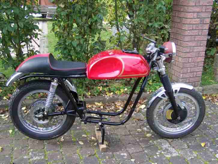 Sanglas 500 S rolling chassis, cafe racer,