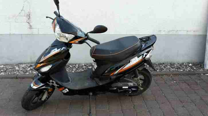 Saro Motor GS 50 ccm schwarz orange 1