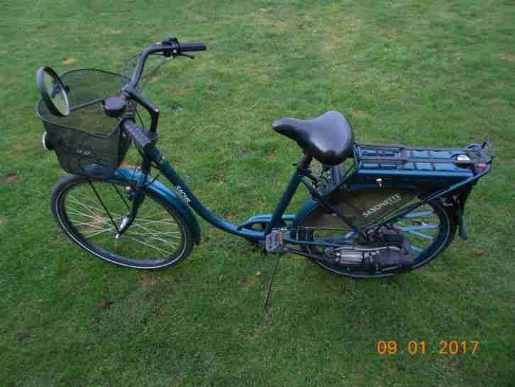 saxonette classic fahrrad mit hilfsmotor aus 1 hercules. Black Bedroom Furniture Sets. Home Design Ideas