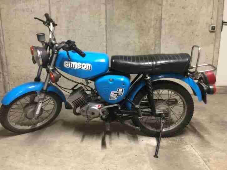 Scheunenfund Simson S51 Original
