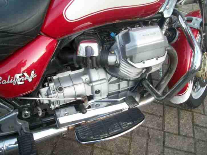 Schöne Moto Guzzi California 1100 EV Evoluzione Touring 2001