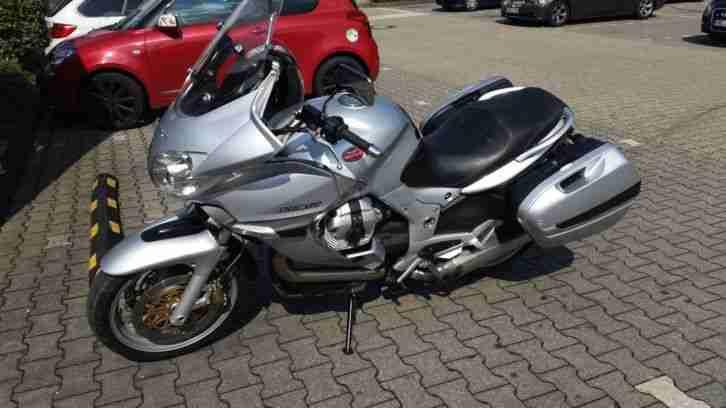 Schöne gepflegte Moto Guzzi Norge 1200 mit ABS und Koffer, reisefertig, TÜV neu.