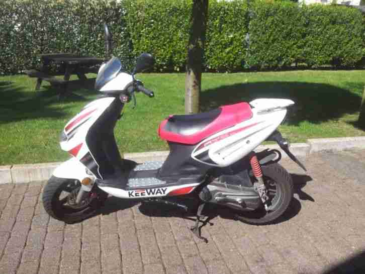 Scooter Keeway Scooter RY8 entdrosselt