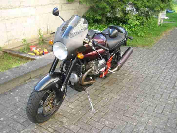 Sehr schöne, gepflegte Moto Guzzi V11 Sport 2002 mit originalen Koffer