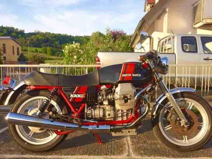 Seltenheit Moto Guzzi 1000 S TÜV neu, Cafe Racer