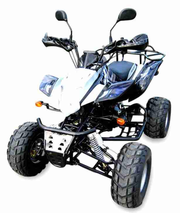 Shineray 200cc COC XY200STIIE B Quad ATV mit Straßenzulassung