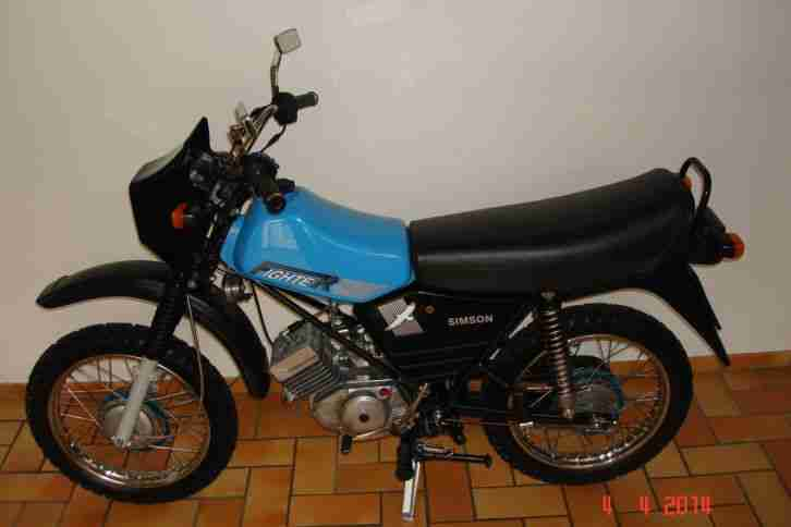simson moped s 53 fighter original erst 1480 km bestes. Black Bedroom Furniture Sets. Home Design Ideas