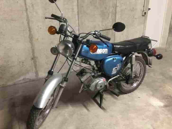 Simson S 51 S51 generalüberholt blau Bj 89 Oldtimer 50 ccm dt. Versicherung