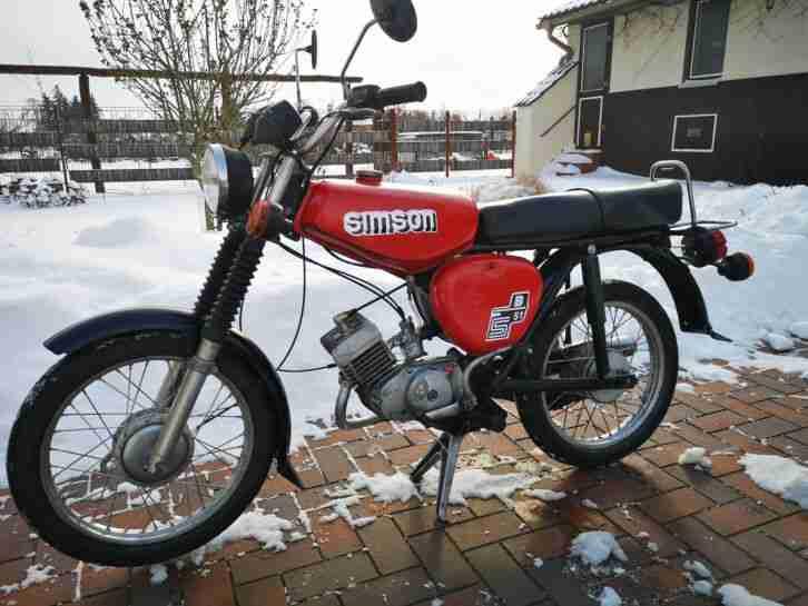 Simson S50 B1 Moped, Versand